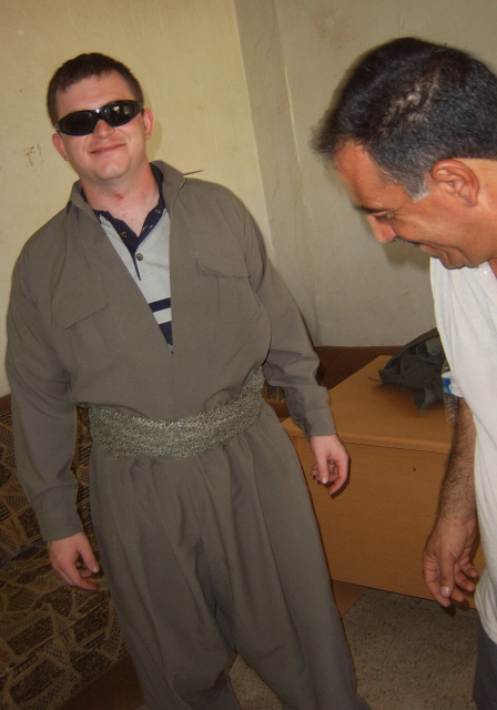 Peshmerga Uniform